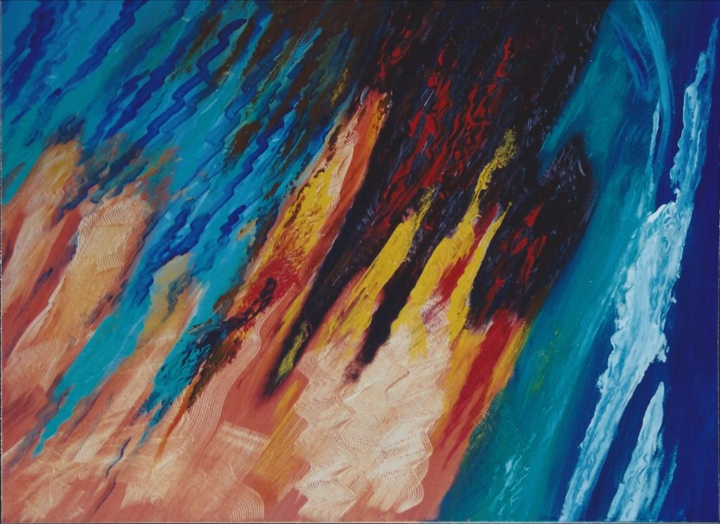 Fusion - Peinture Acrylique - 80x100 - Didier Angels